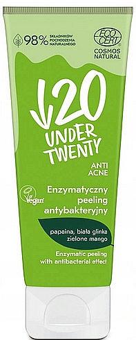 Peeling enzimatic antibacterian pentru față - Under Twenty Anti Acne Antibacterial Enzymatic Peeling