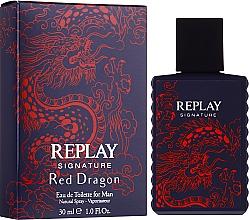 Parfumuri și produse cosmetice Signature Replay Signature Red Dragon - Apă de toaletă