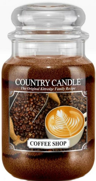 Lumânare aromată (borcan) - Country Candle Coffee Shop — Imagine N1