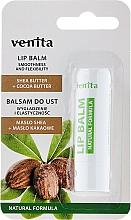 """Parfumuri și produse cosmetice Balsam de buze """"Unt de Shea și Cacao"""" - Venita Lip Balm Shea Butter + Cocoa Butter"""