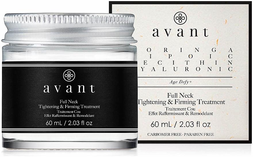 Cremă pentru gât și decolteu - Avant Skincare Full Neck Tightening and Firming Treatment — Imagine N1