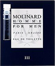 Parfumuri și produse cosmetice Molinard Homme III Molinard - Apă de toaletă (mostră)
