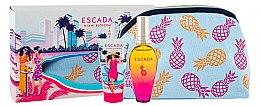 Parfumuri și produse cosmetice Escada Miami Blossom - Set (edt/50ml+b/lot/50ml+bag)