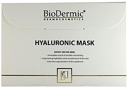 Parfumuri și produse cosmetice Mască cu acid hialuronic pentru față - Biodermic Hyaluronic Mask