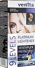 Parfumuri și produse cosmetice Vopsea-decolorare până la 9 tonuri - Venita Plex Platinum Lightener