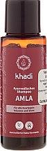 """Parfumuri și produse cosmetice Șampon """"Amla"""" - Khadi Amla Shampoo"""
