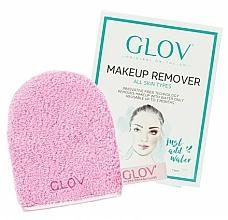Parfumuri și produse cosmetice Mănușă demachiantă, roz - Glov On-The-Go Makeup Remover Rose