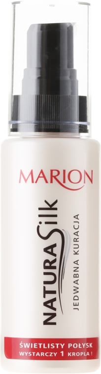 Mătase lichidă pentru păr - Marion Hair Natura Silk Jedwabna Kuracja — Imagine N3