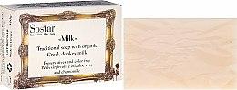 Parfumuri și produse cosmetice Săpun - Sostar Traditional Soap with Organic Greek Donkey Milk