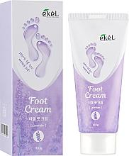 Parfumuri și produse cosmetice Cremă calmantă cu extract de lavandă pentru picioare - Ekel Foot Cream