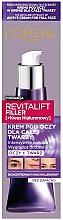 Parfumuri și produse cosmetice Cremă pentru ochi - L'Oreal Paris Revitalift Filler Eye Cream For Face