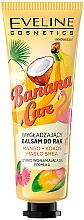 """Parfumuri și produse cosmetice Cremă """"Mango, unt de nucă de cocos și unt de shea"""" pentru mâini - Eveline Cosmetics Banana Care"""
