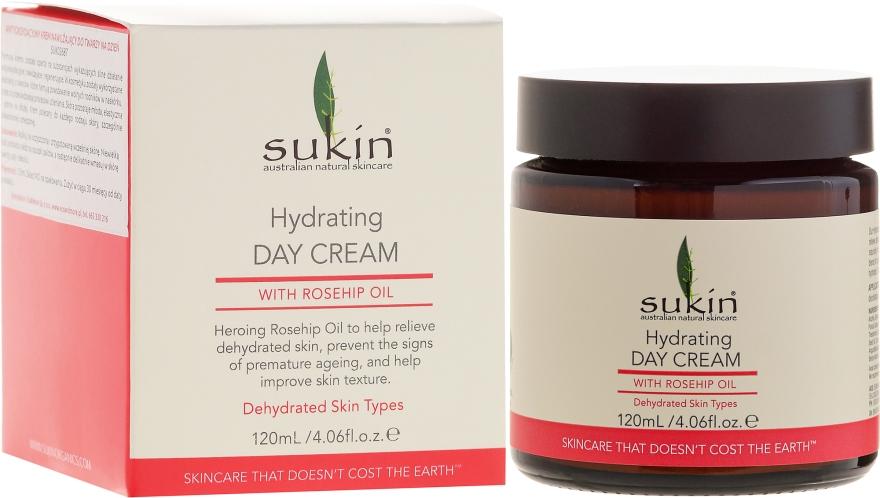 Cremă hidratantă de zi pentru față - Sukin Rose Hip Hydrating Day Cream — Imagine N4