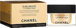 Parfumuri și produse cosmetice Cremă pentru zona ochilor - Chanel Sublimage Eye Cream