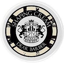 Parfumuri și produse cosmetice Cremă modelatoare pentru păr - Dear Barber Shaping Crem (Mini)