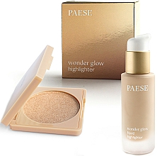 Parfumuri și produse cosmetice Set - Paese Wonder Glow Highlighter (highlighter/7,5g+highlighter/20ml)