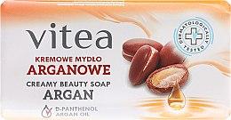 Parfumuri și produse cosmetice Săpun-cremă cu ulei de argan - Vitea Cream Argan Soap