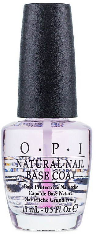 Top coat pentru unghii naturale - O.P.I Natural Nail Base Coat — Imagine N1