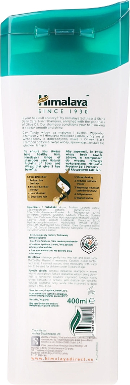 Șampon cu proteine - Himalaya Herbals — Imagine N2
