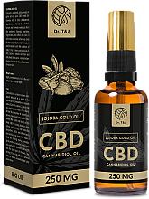 Parfumuri și produse cosmetice Ulei natural de jojoba CBD 250mg - Dr. T&J Bio Oil