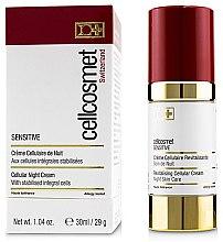 Parfumuri și produse cosmetice Cremă celulară de noapte pentru pielea sensibilă - Cellcosmet Sensitive Night Cream