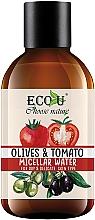 """Parfumuri și produse cosmetice Apă micelară """"Roșii și măsline"""" - Eco U"""