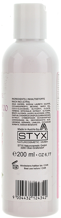 "Șampon ""Verbina"" - Styx Naturcosmetic Hair Shampoo Verbena — Imagine N2"