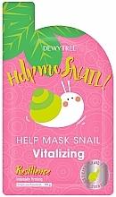 Parfumuri și produse cosmetice Mască regenerantă pentru față - Dewytree Help Me Snail! Vitalizing Mask