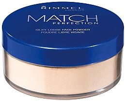 Parfumuri și produse cosmetice Pudră pulbere - Rimmel Match Perfection Silky Loose Powder