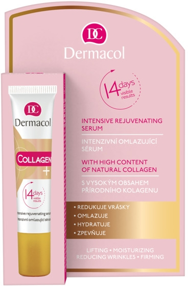 Ser intensiv anti-îmbătrânire - Dermacol Collagen+ Intensive Rejuvenating Serum