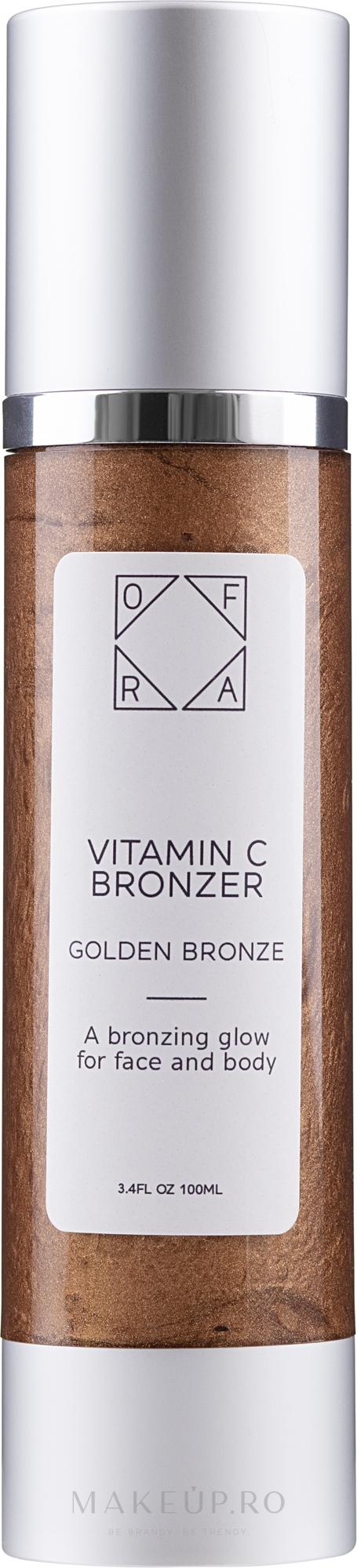 Bronzer - Ofra Vitamin C Bronzer — Imagine Golden Bronze