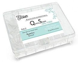 Parfumuri și produse cosmetice Șabloane pentru alungirea unghiilor - Elisium Quick Shape Nail Form Typ 2
