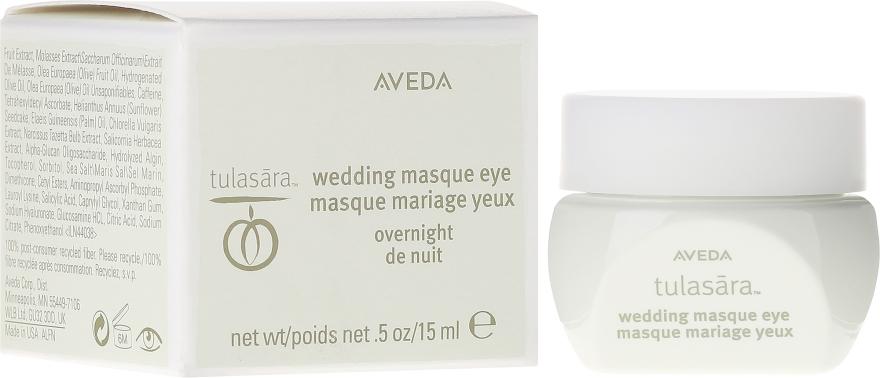 Mască de noapte pentru ochi - Aveda Tulasara Wedding Masque Eye — Imagine N1