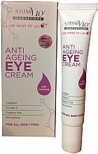 Parfumuri și produse cosmetice Cremă anti-îmbătrânire pentru ochi - Derma V10 Innovations Anti Ageing Eye Cream