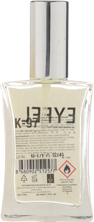 Eyfel Perfume K-97 Madmasel - Apă de parfum — Imagine N2