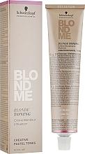 Parfumuri și produse cosmetice Soluție pentru tonarea părului - Schwarzkopf Professional BlondMe Blonde Toning