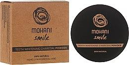 Parfumuri și produse cosmetice Praf de dinți pentru albire - Mohani Smile Teeth Whitening Charcoal Powder