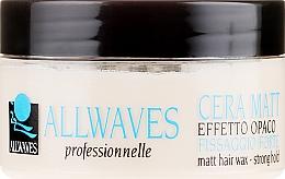 Parfumuri și produse cosmetice Ceară de păr - Allwaves Matt Hair Wax