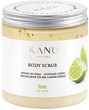 """Parfumuri și produse cosmetice Scrub pentru corp """"Lime"""" - Kanu Nature Lime Body Scrub"""