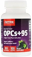 """Parfumuri și produse cosmetice Suplimente alimentare """"Extract din semințe de struguri"""" - Jarrow Formulas OPCs + 95 Grape Seed Extract, 100 mg"""
