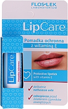 Ruj de buze protector cu vitamina E 1% - Floslek Lip Care Protective Lipstick With Vitamin E 1% — Imagine N1