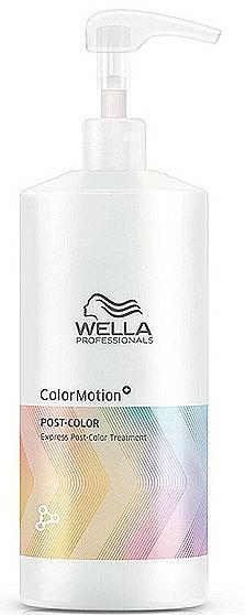 Balsam pentru îngrijirea părului după vopsire - Wella Professionals Color Motion+ Post-Color Treatment