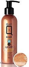 Parfumuri și produse cosmetice Balsam autobronzant de corp - Silcare Quin Fluid BB 1 Body Shine Light