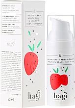 """Parfumuri și produse cosmetice Cremă naturală regenerantă cu complex de plante """"Detox"""" - Hagi"""