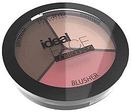 Parfumuri și produse cosmetice Paletă pentru conturarea feţei - Ingrid Cosmetics Ideal Face Foundation