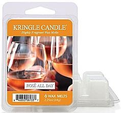 Parfumuri și produse cosmetice Ceară pentru lampă aromată - Kringle Candle Rose All Day Wax Melts
