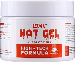 Parfumuri și produse cosmetice Cremă-gel cu efect de încălzire pentru corp - Loma Sports Hot Gel Cream