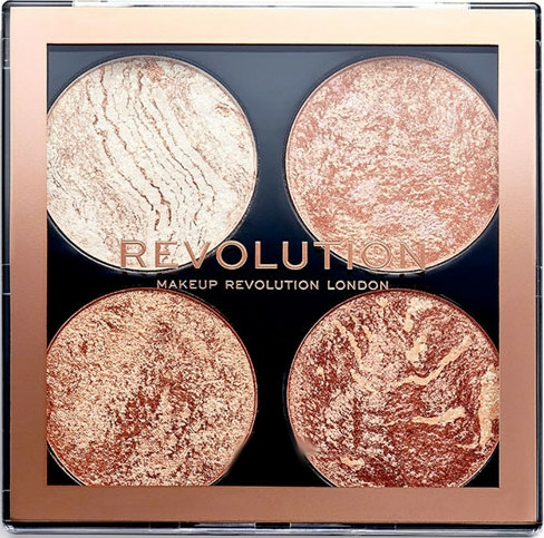 Paletă de machiaj - Makeup Revolution Cheek Kit