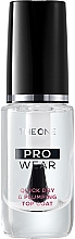 Parfumuri și produse cosmetice Fixator de unghii - Oriflame The One Pro Wear Qwick Dry&Plumping Top Coat