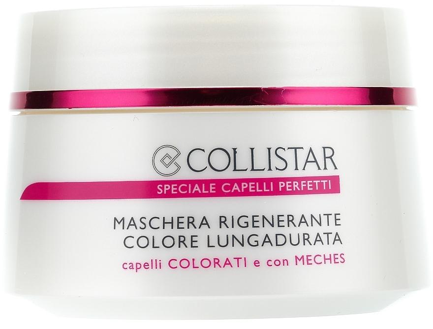 Mască pentru păr vopsit - Collistar Regenerating Long Lasting Colour Mask — Imagine N1